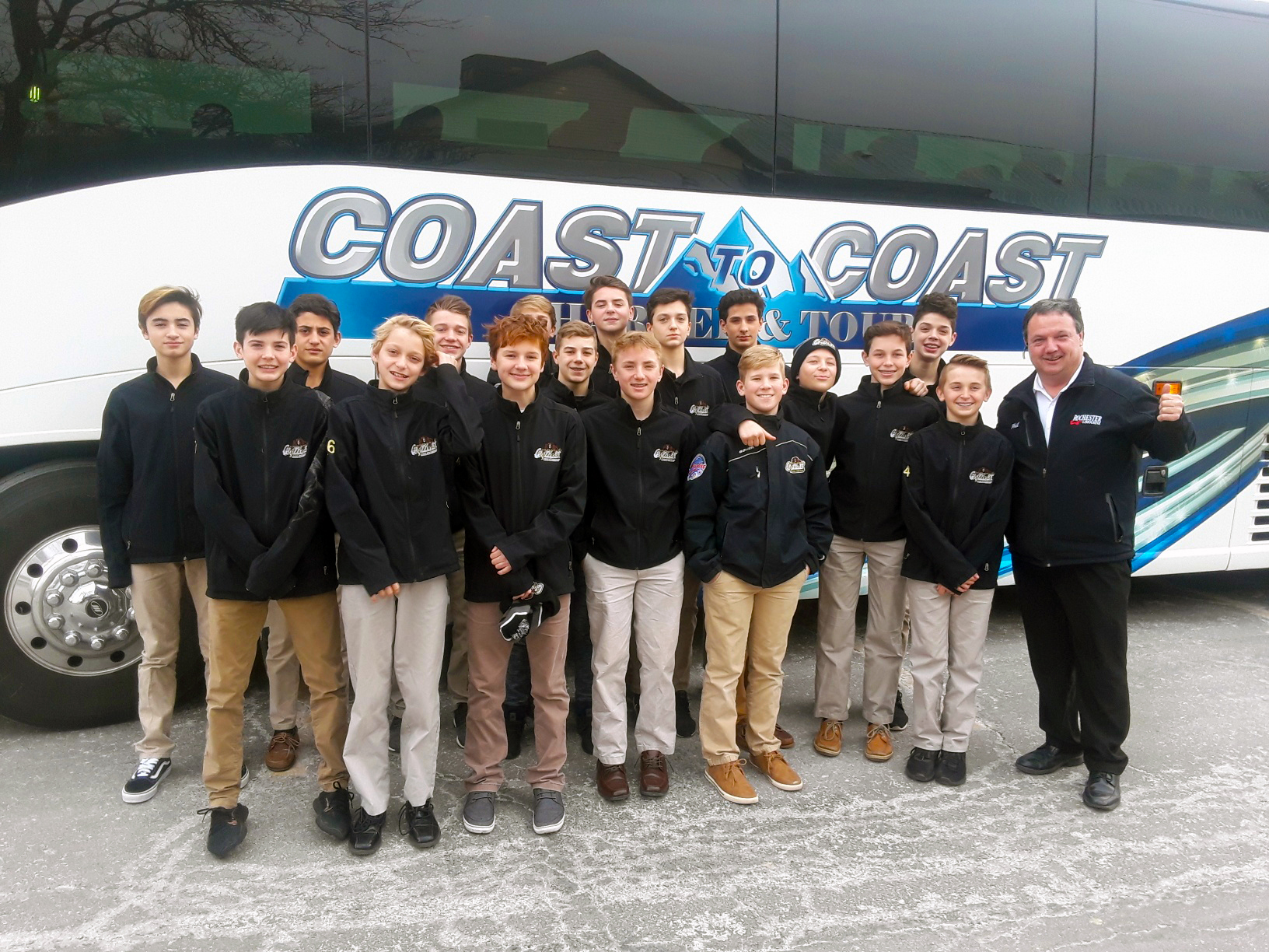 Coast to Coast Charter & Tours